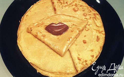 Рецепт Блины с какао и корицей