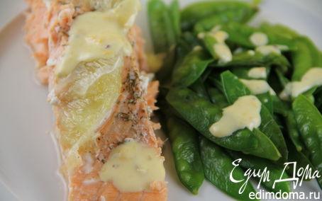 Рецепт Филе лосося, запеченное с лаймом