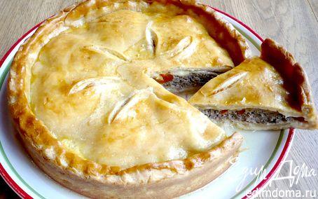 Рецепт Пирог с мясом «Неожиданная встреча, или чита Маргарита»