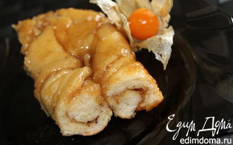 Рецепт Косички с медом