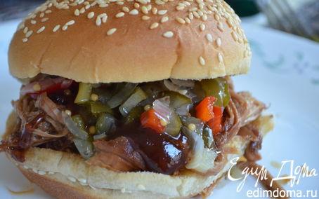 Рецепт Тушеная свинина барбекю
