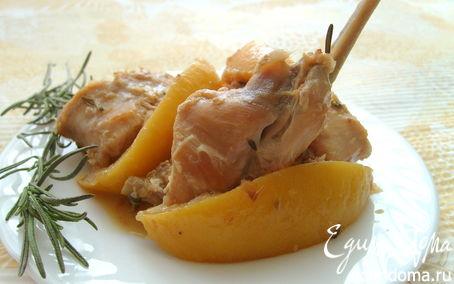Рецепт Жаркое из кролика с лимоном