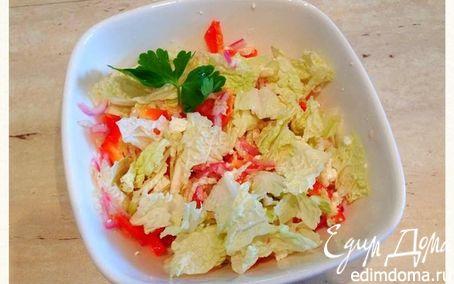 Рецепт Легкий весенний салат