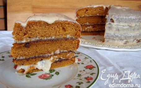 Рецепт Пряный Тыквенный торт
