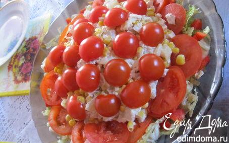 Рецепт Африканская роза салат