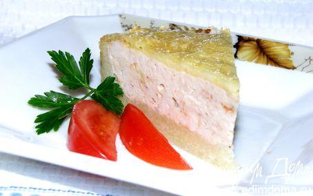 Рецепт Картофельная запеканка с индейкой