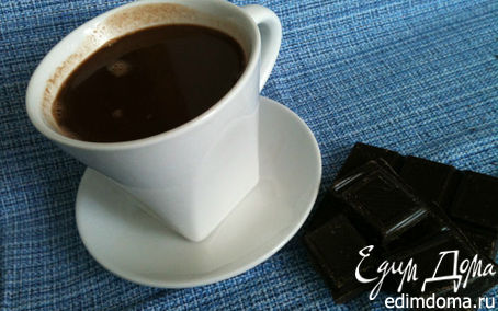 Рецепт Горячий шоколад - проще не бывает