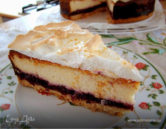 Творожный пирог по-шведски