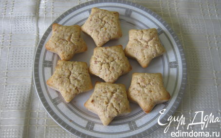 Рецепт Постные кексы с миндалем