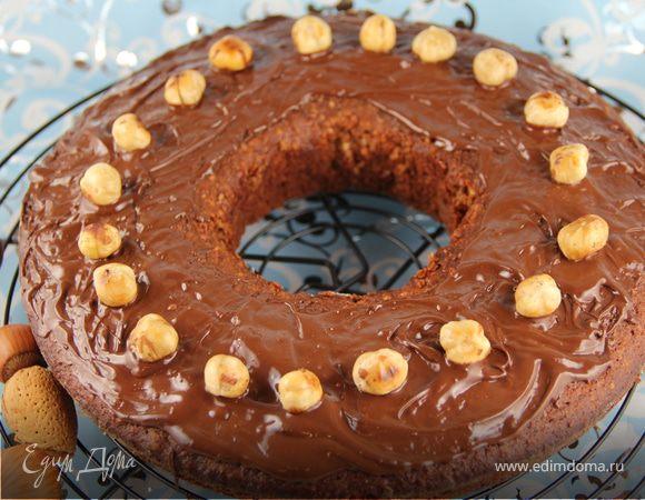 Шоколадное кольцо с фундуком