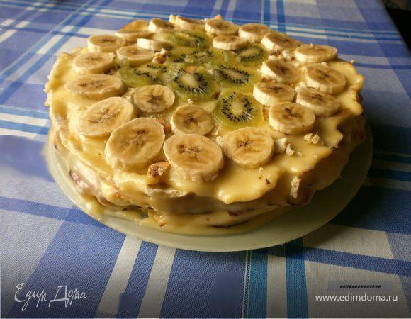 Тортик на сковороде