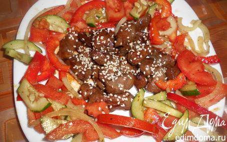 Рецепт Свинина в соусе терияки