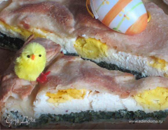 Лигурийский пасхальный пирог Паскуалина