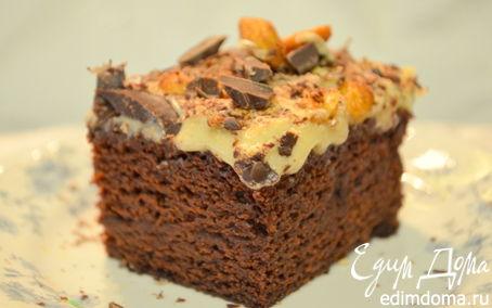 Рецепт Шоколадный кекс с арахисовым маслом