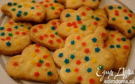 Рецепт Карнавальное печенье (Biscotti di Carnevale)