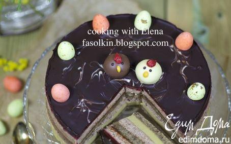Рецепт Кофейно-трюфельный пасхальный торт