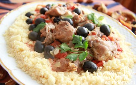 Рецепт Жаркое по-мароккански