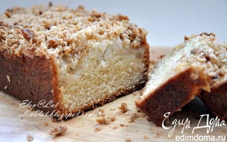 Рецепт Кекс с яблоком и хрустящей корочкой (Apple Crumble Cake)