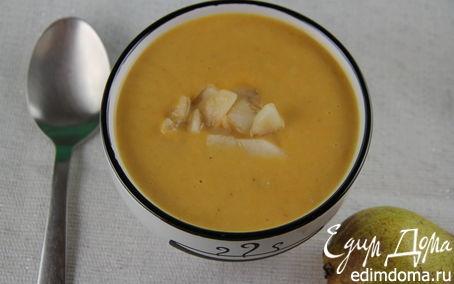 Рецепт Суп-пюре из сладкого картофеля, пастернака и груши