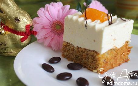 Рецепт Пирог морковно-мандариновый