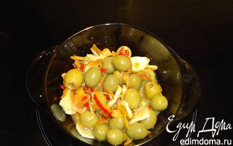 Рецепт Оливки маринованные (закуска)