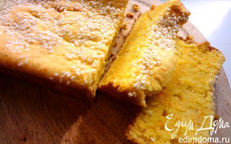 Рецепт Творожно-морковный кекс с шафраном