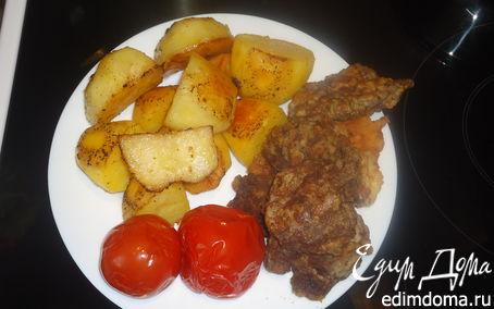Рецепт Запеченная картошка с мясом