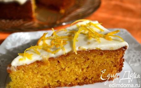 Рецепт Глазированный апельсиновый пирог