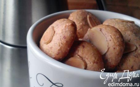 Рецепт Миндальное печенье из рисовой муки