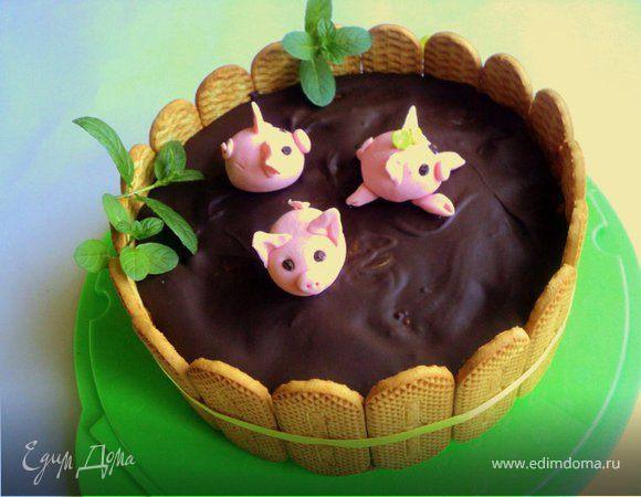 Торт «Три веселых поросенка»