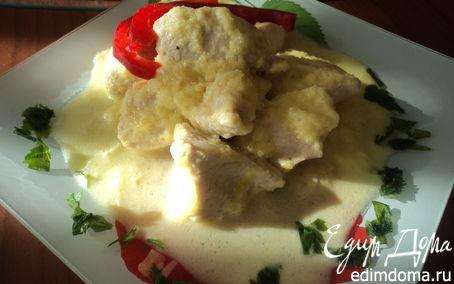 Рецепт Филе куриной грудки в мангово-сливочном соусе