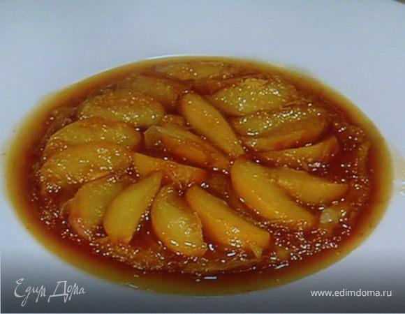 Персиковый Тарт Татен