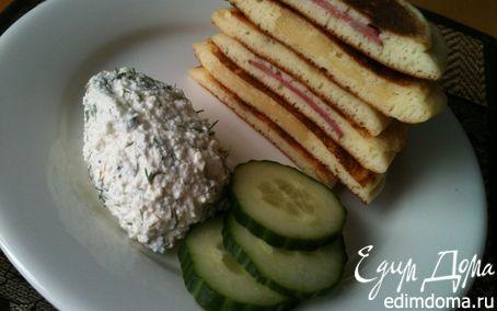 Рецепт Панкейки-бутерброды