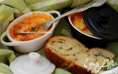 Рецепт Мидии, запеченные в двух соусах