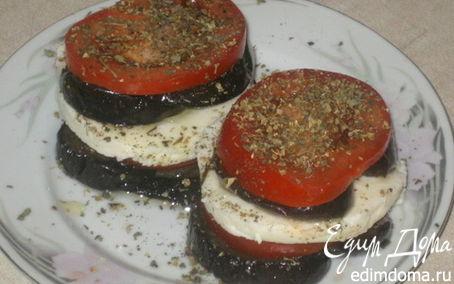 """Рецепт """"Башенки в итальянском стиле"""""""