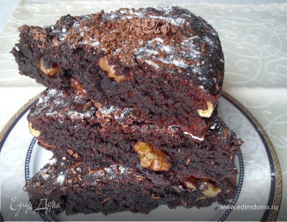 Шоколадный пирог из рисовой муки