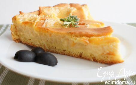 Рецепт Итальянский сырный пирог (Crostata di formaggi)