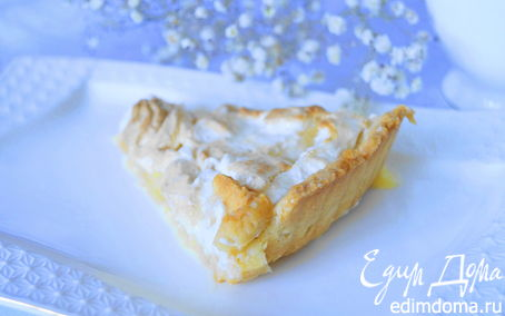Рецепт Лимонный тарт с меренгой по мотивам Пьера Эрме