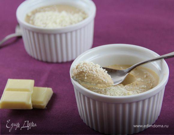 Кофейный крем-мусс с белым шоколадом