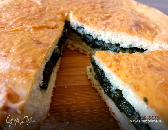 Пирог со щавелем