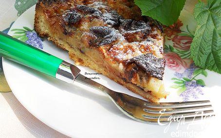 Рецепт Нежный банановый тарт