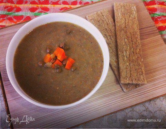 Чечевичный суп-пюре (Mercimek çorba)