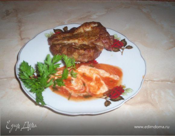 Мясо на решетке в духовке по-домашнему