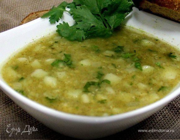 Египетский суп из красной чечевицы