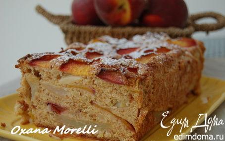 Рецепт Персиковый кекс с амаретти из Ломбардии