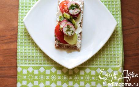 Рецепт Весенний Бутерброд, или новый взгляд на салат