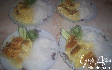 """Рецепт """"Неженка"""" - Куриное филе в соусе"""