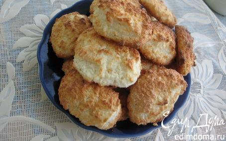 Рецепт Нежное творожно-кокосовое печенье