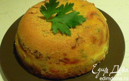 Рецепт Gatto' di patate (Торт из картофеля)