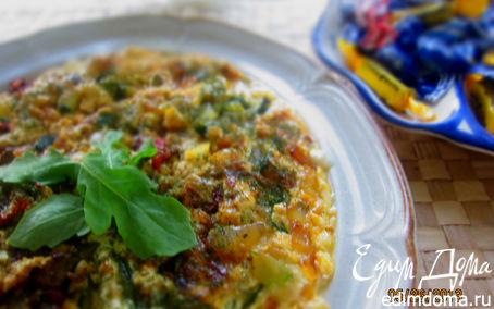 Рецепт овощной омлет